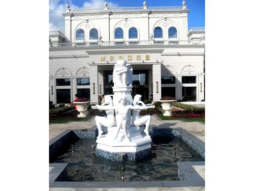 维多利亚庄园雕塑-