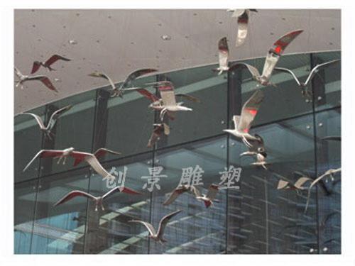 中茵皇冠假日酒店《飞翔的海鸥》001