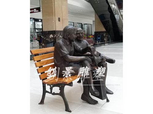 万家汇商城雕塑