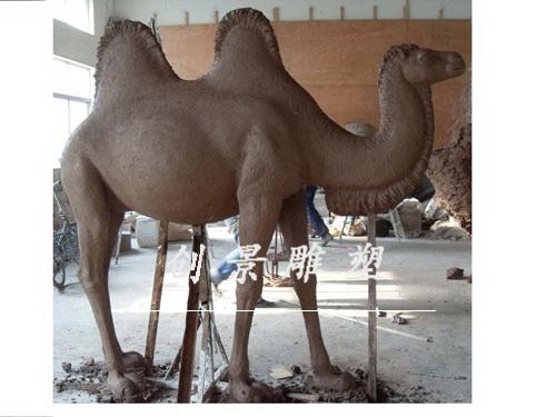 骆驼泥塑制作