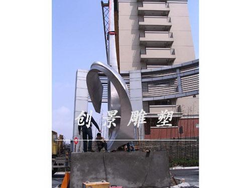 不锈钢雕塑安装