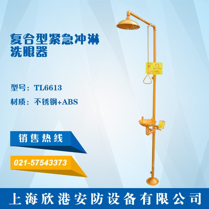 TL6613复合型紧急冲淋洗眼器(不锈钢+ABS)