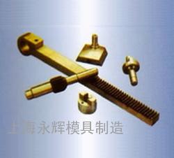 齿轮轴、齿杆、联轴节、前节轴、溜板