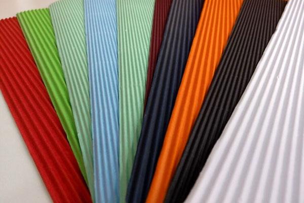 2層E型彩色瓦楞紙板
