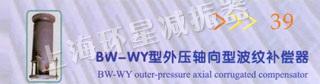 BW-WY型外壓軸向型波紋補償器