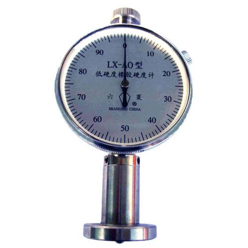LX―AO型低硬度橡胶硬度计单表
