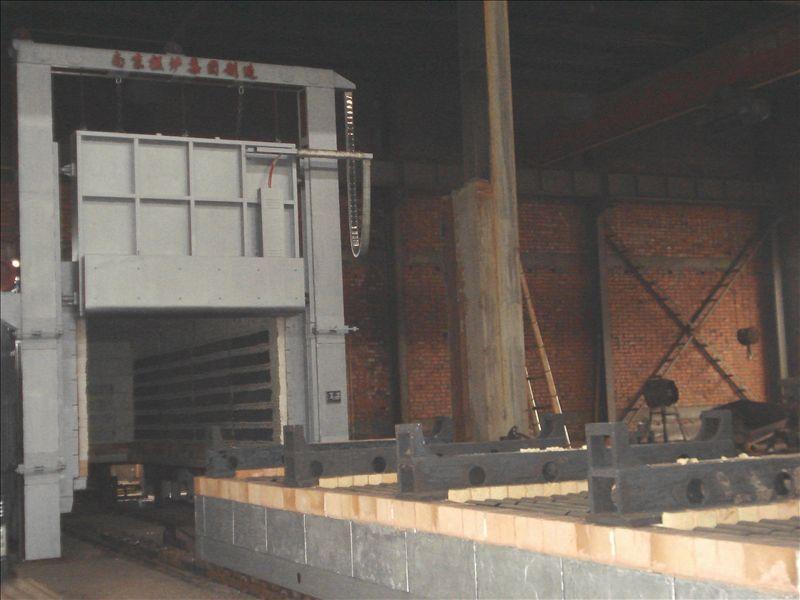 大型臺車式熱處理爐