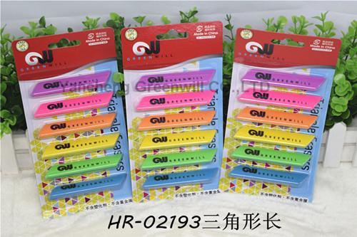 6CT Triangle Eraser  HR-02193