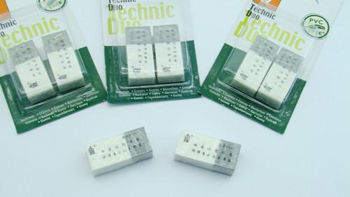 2CT Technic Duo eraser    HR-00168