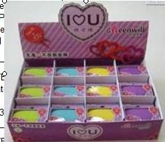 1CT.I LOVE U eraser HR-01714