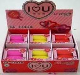2CT.I LOVE U eraser HR-01721