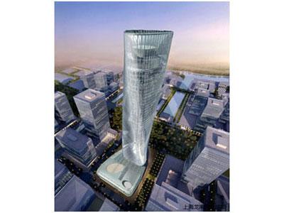 宁波中银大厦项目精度控制技术