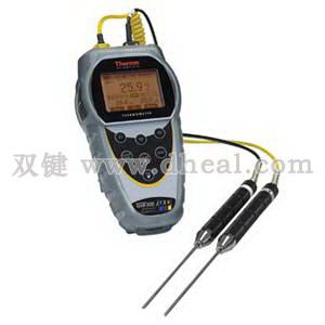 双通道热电偶式温度测量仪 Temp300
