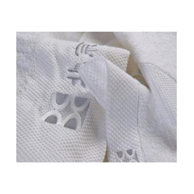 MJ002  缎边绣花毛巾