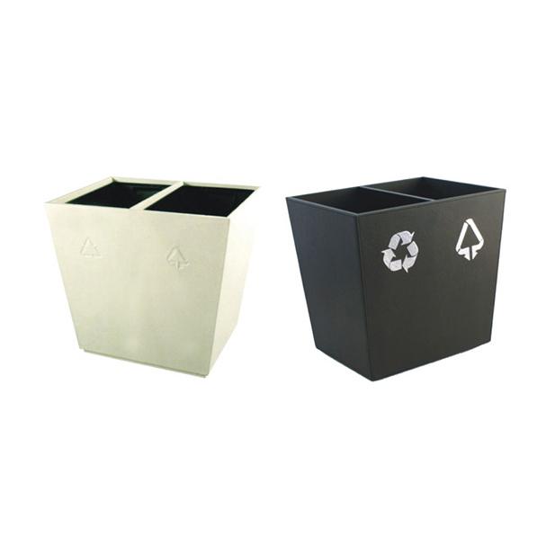 LJT128  皮制垃圾桶