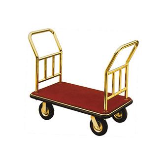 XLC016 砂铜( 亮铜) 双向手推行李车