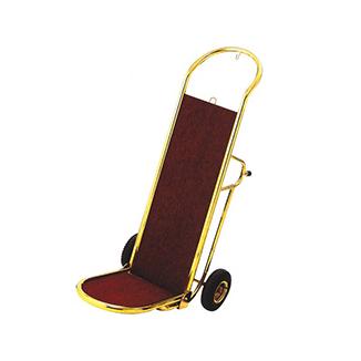 XLC011 砂铜(亮铜)手推行李车