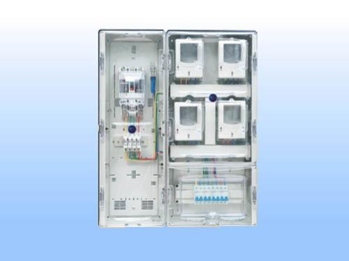 DX-S-4KZM(C)單相四表(帶透明總控箱)C型