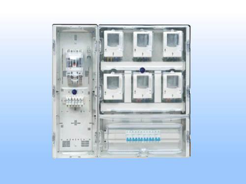 DX-S-6KZM(C)單相六表(帶透明總控箱)C型