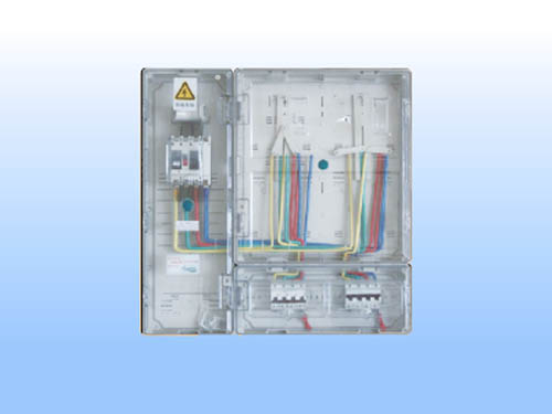 PJF-S-2KZM 三相二表(左右式带主控箱)电表箱