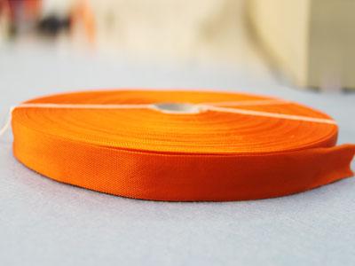 20-150橙黄平纹锦丝带