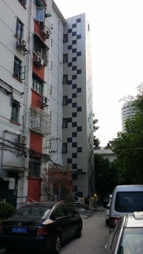 电梯外墙装饰