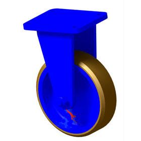 袋鼠牌8′′ 10′′ 12′′ 16′′ 单排固定轮