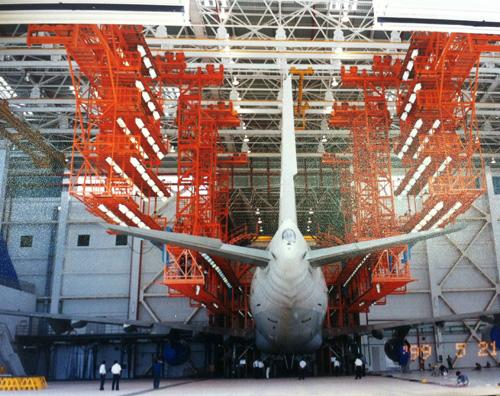 悬挂式多机种机坞