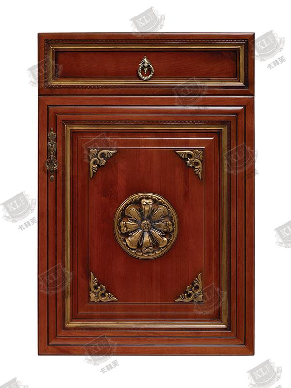 中式系列美国樱桃木S-501实木门板
