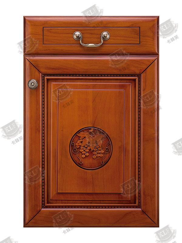 中式系列美国樱桃木S-602实木门板