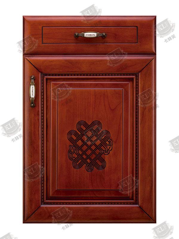 中式系列美国樱桃木S-605实木门板