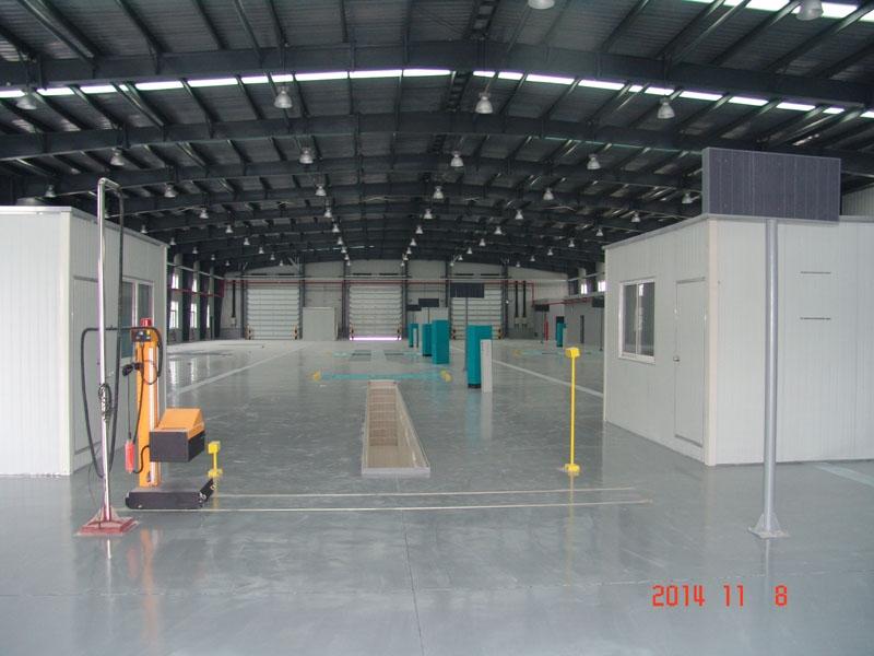 临港汽车检测线项目(钢结构)
