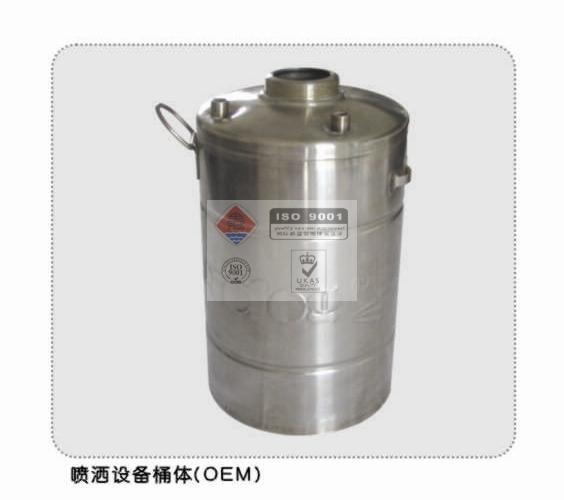喷洒设备桶体
