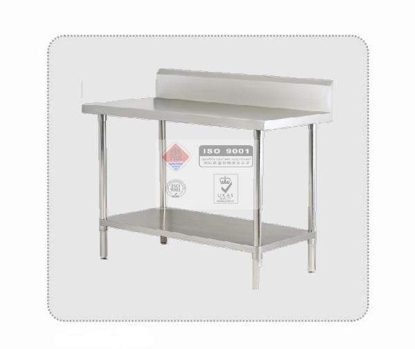 不锈钢靠墙式切配台
