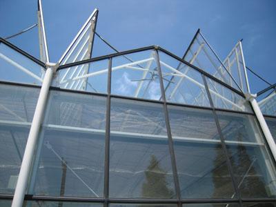 全开型玻璃温室