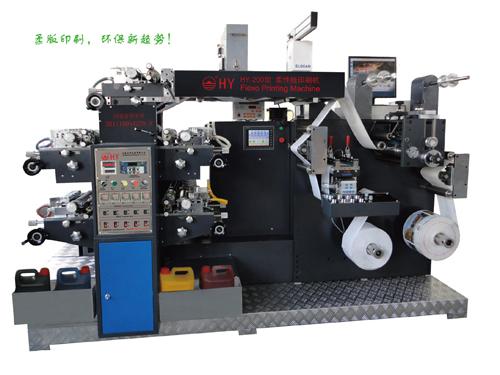 卫星式柔性版标签印刷机