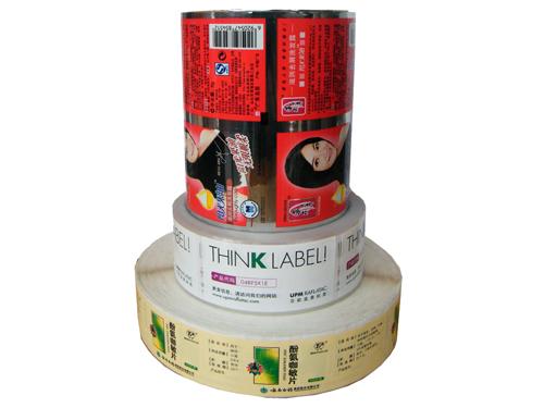 卫星式柔性版机印刷样品