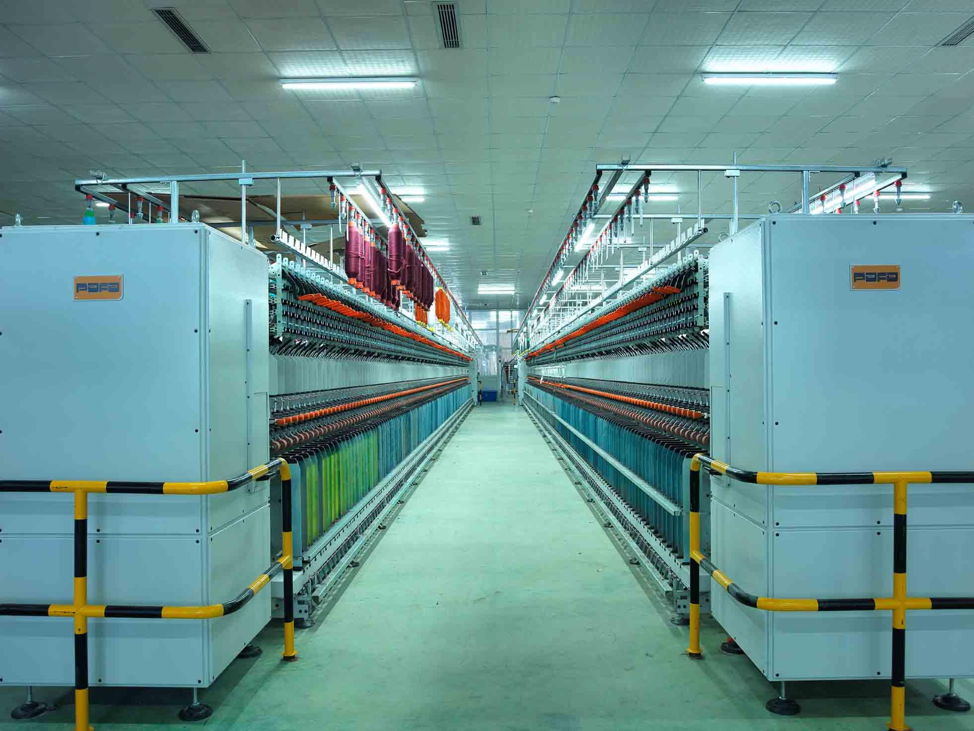 High quality fancy yarn production line