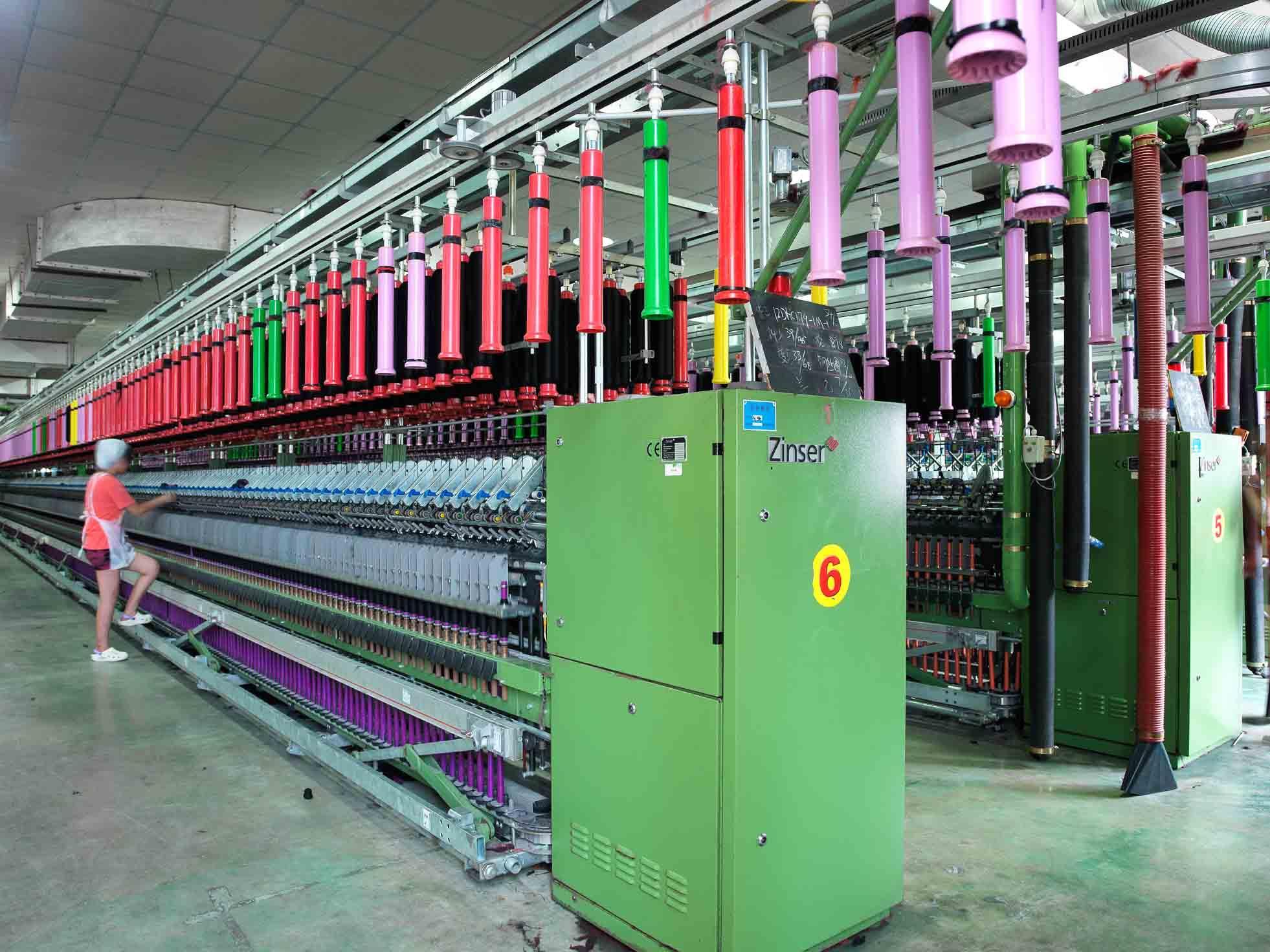 江苏鹿港科技股份有限公司-半精纺生产线
