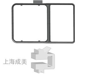 NO2 8-shaped apron
