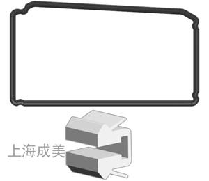 四边形胶圈8