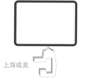 四边形胶圈14