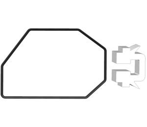 NO2 Aprons quadrilateral