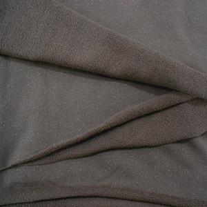 银丝毛圈布