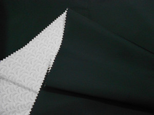 Nylon 40D jacquard+pu coating