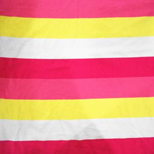 32S c/sp stripe knit fabric