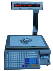 TM-Aa-6a.Amountcounting barcode Printing Scale