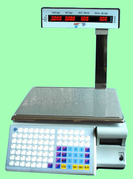 TM-Aa-5b. LED Display. Barcode printing Scale (with Network Card)