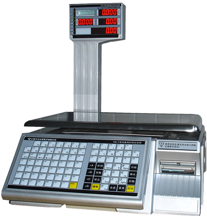TM - F series barcode printing price computing scale