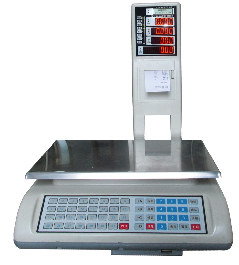 SY-B-1d Series Cash Register Scale